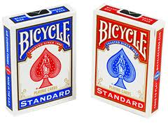 Bicycle Playing Cards Decks- Rider Back 808