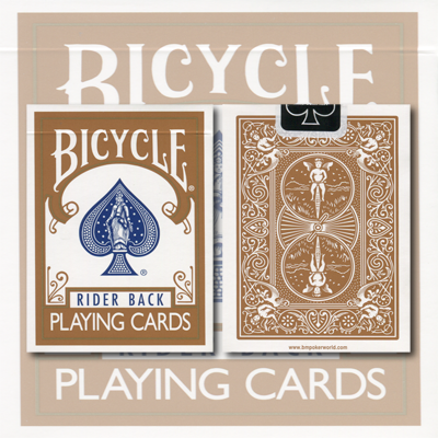 Bicycle Brown Cards by USPCC