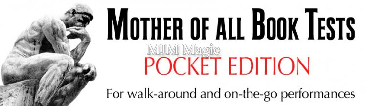 The Mother of All Book Tests - POCKET EDITION $200.00