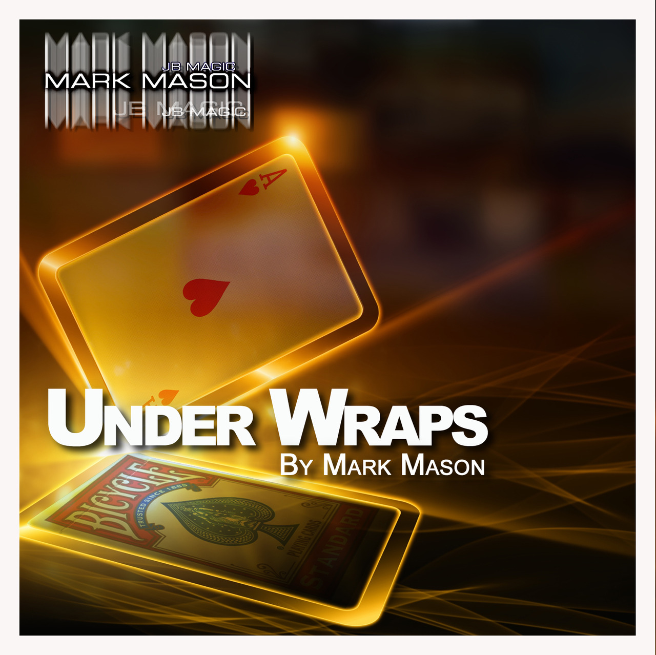 Under Wraps DVD & Gimmicks by Mark Mason