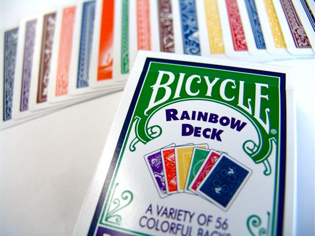 Rainbow Deck by the USPCC