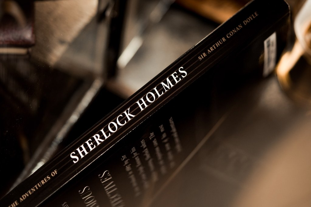 Sherlock Holmes books test by Theory 11