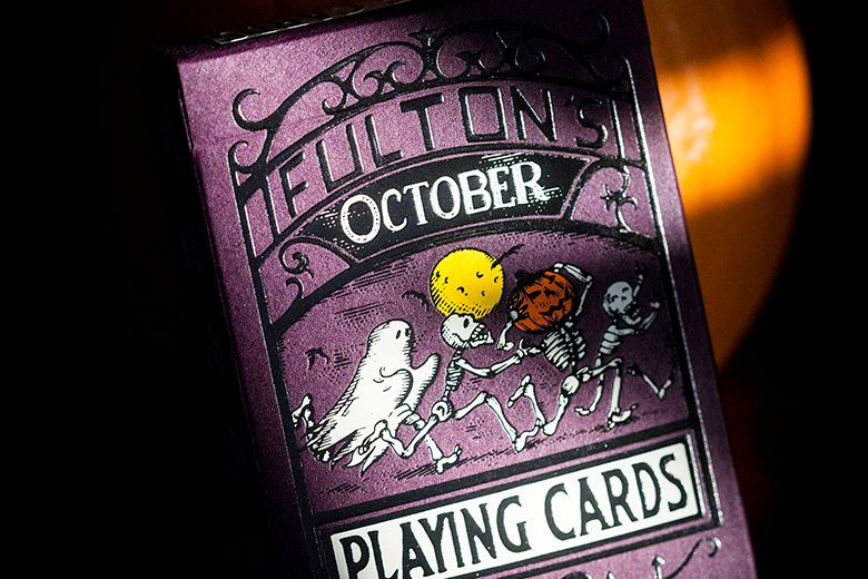 Purple October Fulton Decks