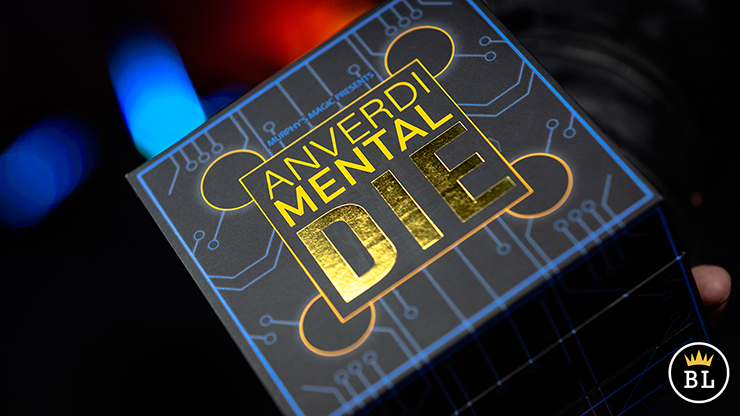 MENTAL DIE WHITE (With Online Instruction) by Tony Anverdi
