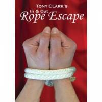 In & Out Rope Escape DVD and Rope by Tony Clark