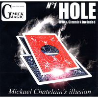 Hole (DVD and Gimmick) by Mickael Chatelain