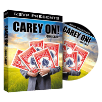 Carey On DVD by John Carey and RSVP Magic - DVD