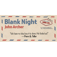 Blank Night - Complete by John Archer
