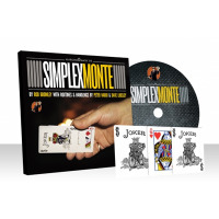 Simplex Monte (DVD and Gimmick) by Rob Bromley and Alakazam Magic