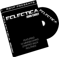 Eclectica DVD by John Carey and RSVP