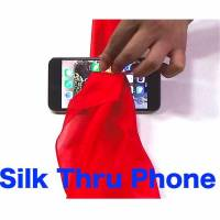 Silk Thru Cell Phone