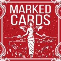 Marked Cards Maiden Backs by Penguin BLUE DECK