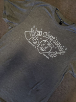 The Magic Apple T -SHIRT Charcoal Gray