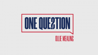 One Question (Gimmicks and Online Instructions) by Ollie Mealing - Trick