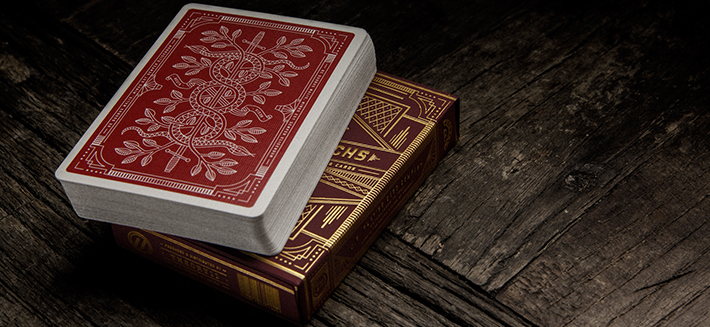 Red Monarch deck by Theory 11