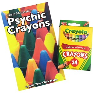 Psychic Crayons by Tony Clark & Chris Mitchell
