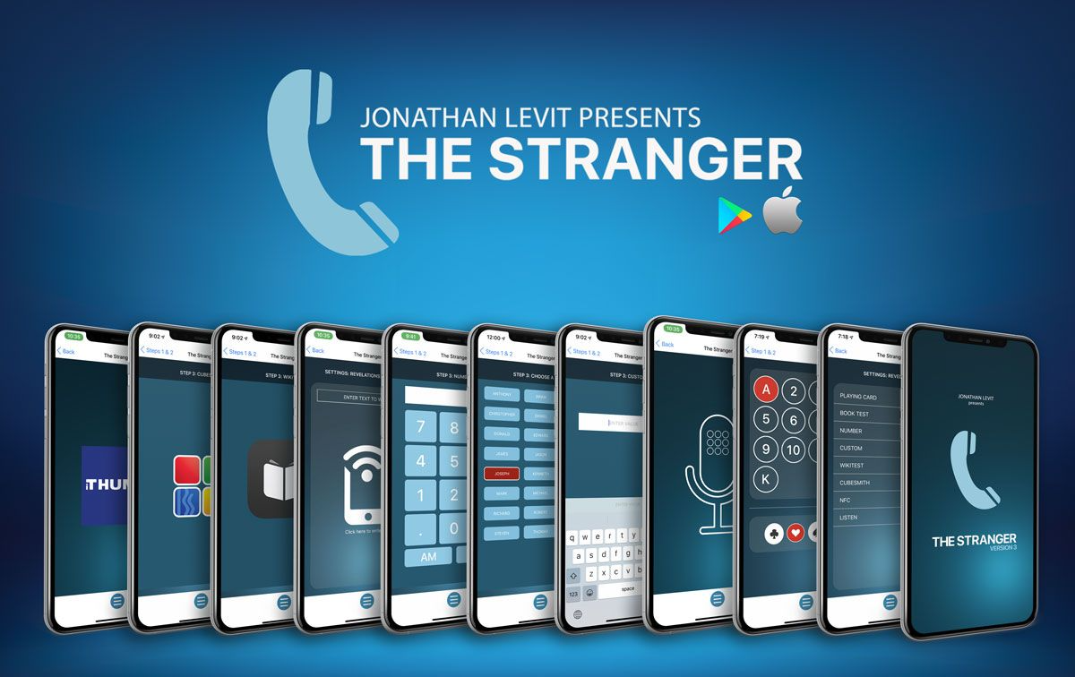 The Stranger by Jonathan Levit (iPhone & Android App)