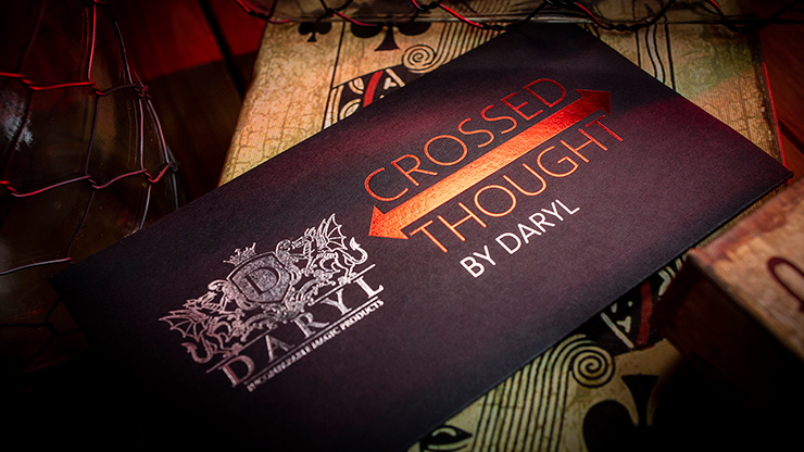 Crossed Thought (Gimmicks and Online Instruction) by DARYL