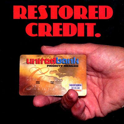 Restored Credit (DVD and Gimmick) by David Regal