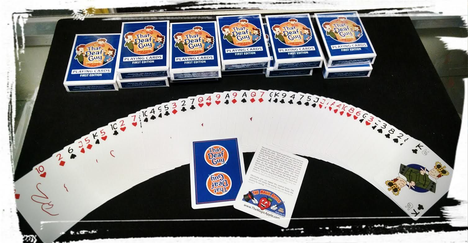 That Deaf Guy Limited Edition Playing Cards