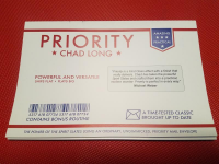 Priority by Chad Long